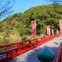 茶臼山と和気橋