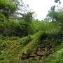 大手門跡と石垣