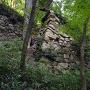 二の丸下の算木積み石垣