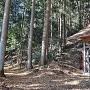 常盤神社と愛宕神社への登り口