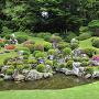 5月中旬の龍潭寺 さつきの庭園[提供:龍潭寺]