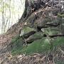二の郭虎口の石積