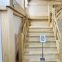 実物大階段模型(下から) 階段体験館