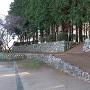 旭城 虎口と石垣