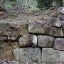 御所ヶ谷神籠石 中門付近 石垣