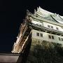 名古屋城夜会 大天守を見上げる