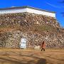上山里曲輪の石垣(1)