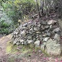 主郭南下曲輪の石垣