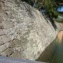 石垣と外堀 二の丸橋から巽櫓方面