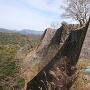 三の丸北側の高石垣
