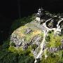 岐阜城のジオラマ模型(本丸周辺)