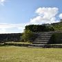 二の郭にあった正殿へのぼる石段