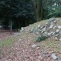 移築された旧二条城石垣