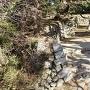 鉄櫓側からの石垣