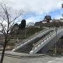 昇龍橋と天守