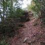 堀り切り跡