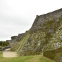 城壁(下のほうは現存)