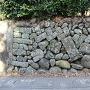 出水麓武家屋敷の石垣