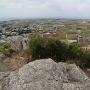 城山頂上からの景色