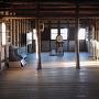 丸亀城 一の門内部