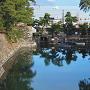 高松城 内堀・水門