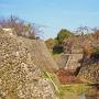 郡山城の石垣