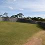 城壁の上から見た二の郭