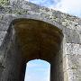 一の郭のアーチ門(奥門)