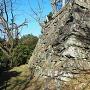 徳島城 西二の丸の石垣