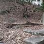 本丸下の石畳