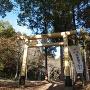 本丸にある羽黒神社