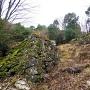 大手枡形の石垣