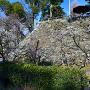 月見櫓跡と風呂谷曲輪
