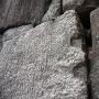 鏨跡の残る石垣