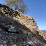 石垣と眺望