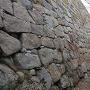 二の丸 北側の石垣
