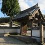 伝移築門(最福寺山門)