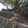 浜之坂口の石垣