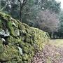 妻木城士屋敷跡の石垣