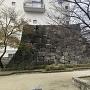 唯一の遺構、櫓石垣