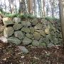 吹貫門脇の石垣