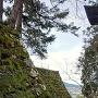 高石垣(稲荷参道から)