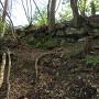 本丸腰曲輪の石垣