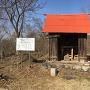 主郭に建つ愛宕神社