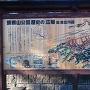 富士見城の看板