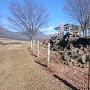 富士見城三の郭の石垣