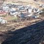 富士見城北側の風景