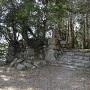 平井丸虎口の石垣