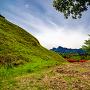 北第一堀切から妙義山を望む