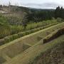 一の堀の畝堀